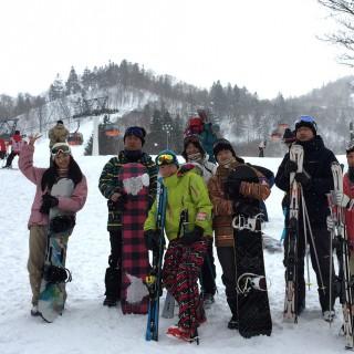 研究室2014年度第1回目のレクレーションで、札幌国際スキー場に行ってきました。(2015.2.28)