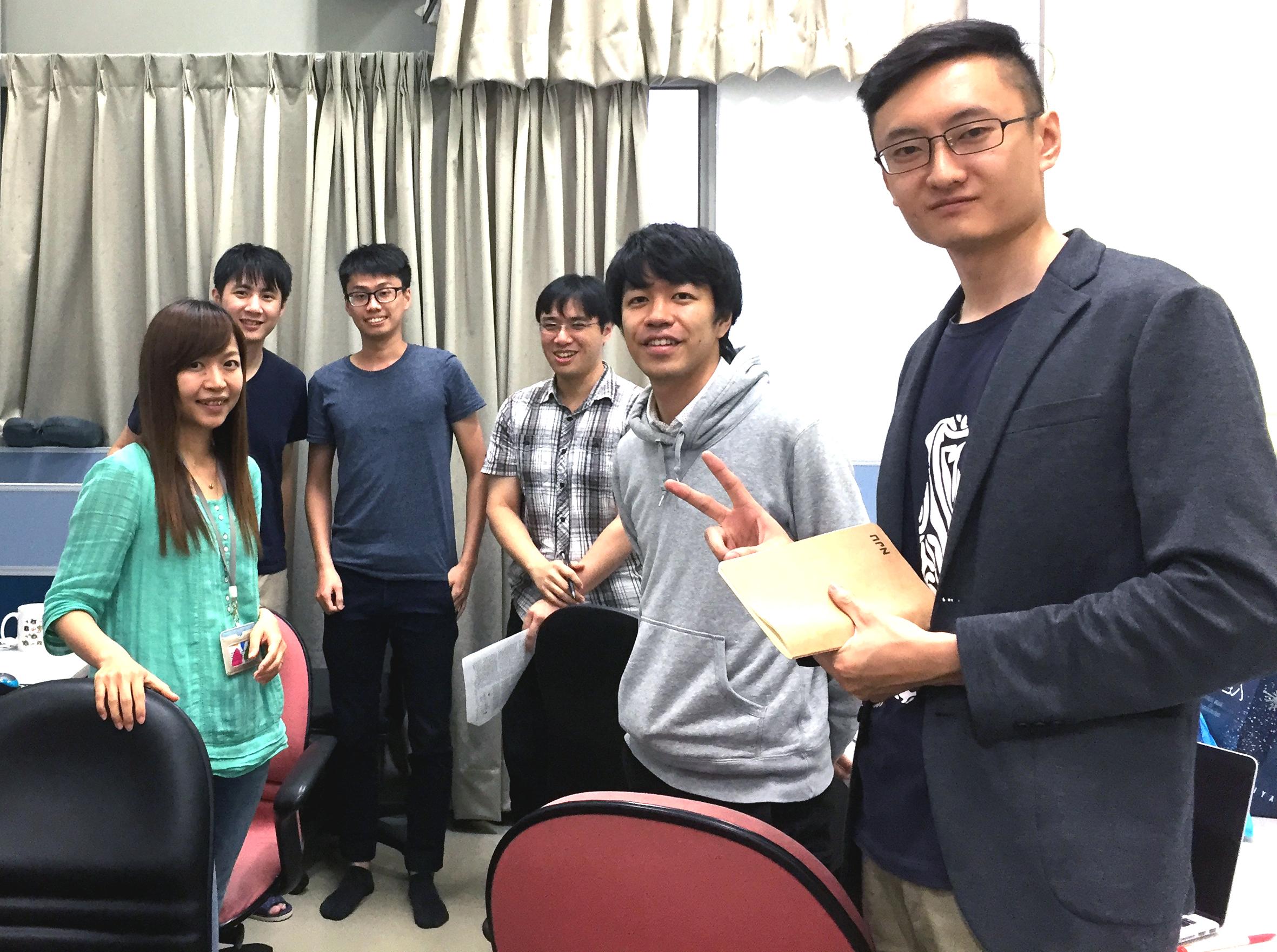 Prof. Yu-Miin Sheu Lab 2017.06.18