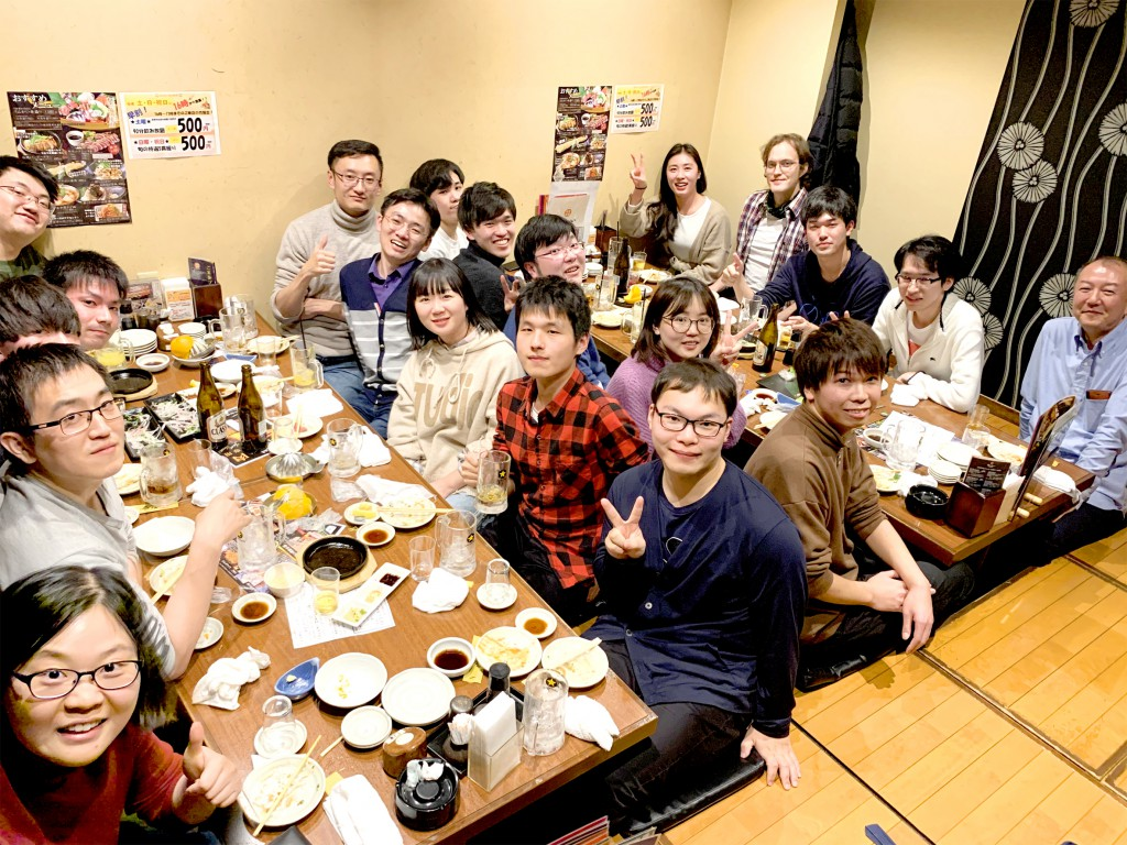 Welcome party 2019.11.22
